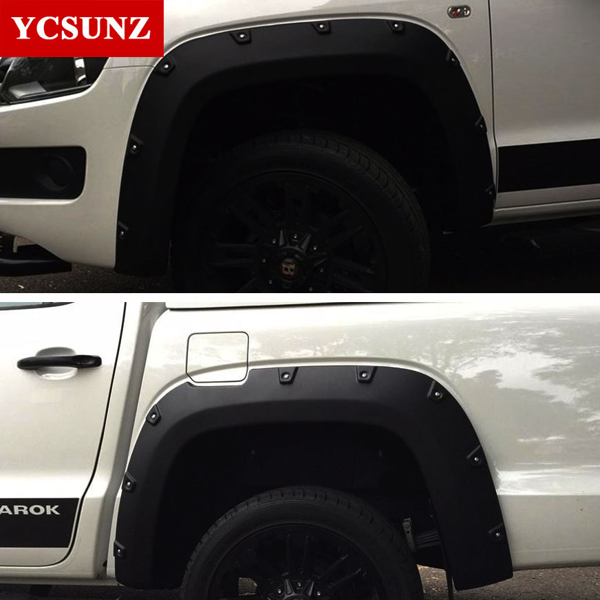 Fender Flares For Vw Accessories Black Mudguard For