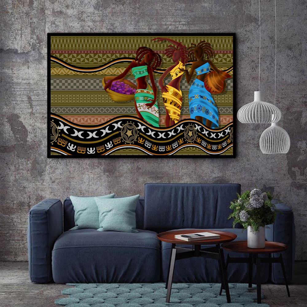 Aliexpress.com : Buy XX3216 15 Wall Art African American ...