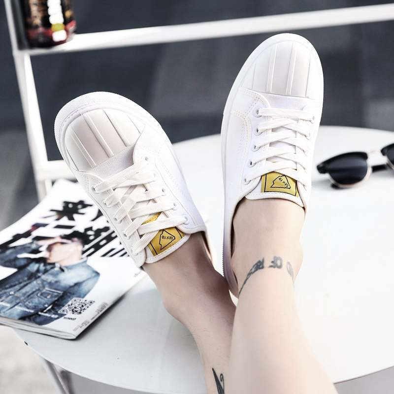 العصرية رجالي قماش متعطل أحذية رجالي الصيف 2019 أحذية رياضية Homens Slipon الرجال أحذية رياضية بيضاء الرجال حذاء كاجوال رجل شونن sapلاتوس