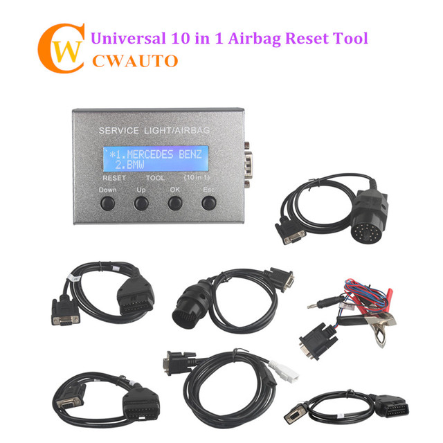 Flash Promo Universal 10 in 1 Service Light and Airbag Reset Tool