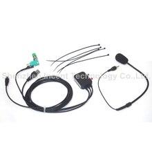 VOIONAIR 10 шт./лот 8-контактный Hands-free микрофон для ICOM IC2200H IC2720 IC2820 автомобиль мобильной радиосвязи