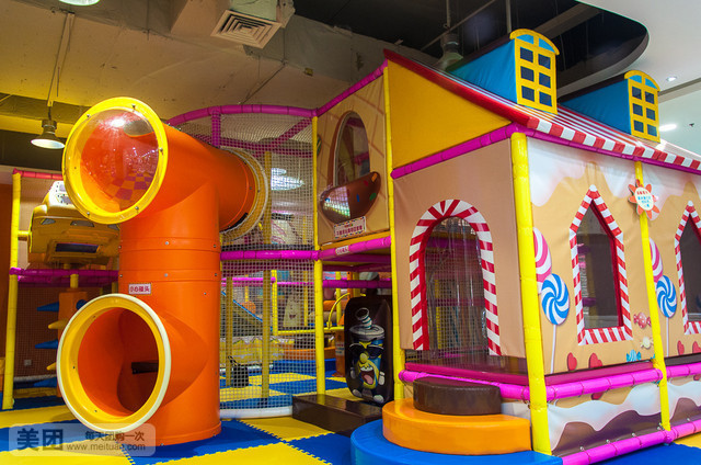 Children soft indoor playground for sale play structure with slides ...