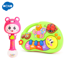 Develop Baby Intelligence Baby Toy Gifts & Kids Musical Educational Playing Animal Farm Piano Music Toys baby kids musical educational piano animal farm developmental music toy educational kids toy random color