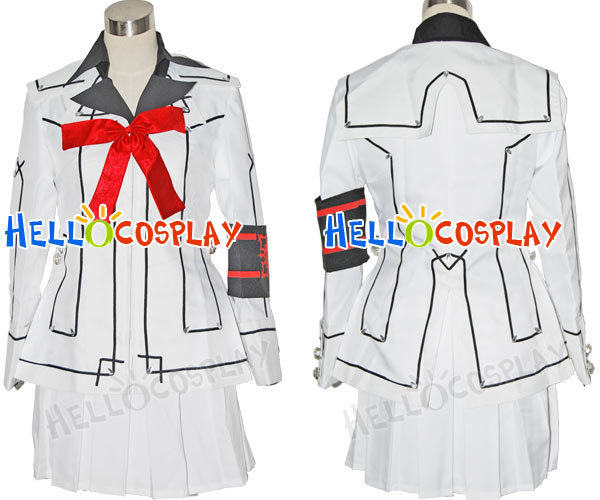 Vampire Knight Night Class Girl Kurosu Yuuki Cosplay Costume H008