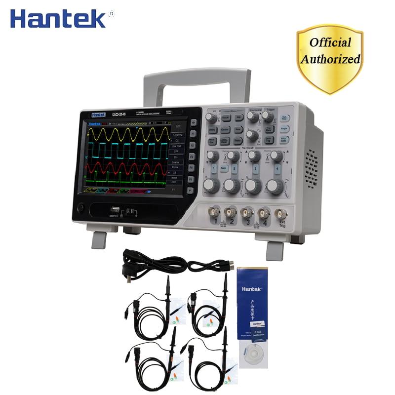 Hantek DSO4254B 64K Digital Storage Oscilloscope 4CH EXT+DVM+Auto Range Function 1GS/s Generator SD Card Storage