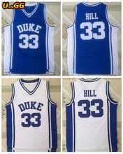 247127adb72 Uncle GG Wholesale Mens Cheap Throwback Basketball Jersey  33 Grant Hill  Jersey Duke University Stitched Basketball Shirt