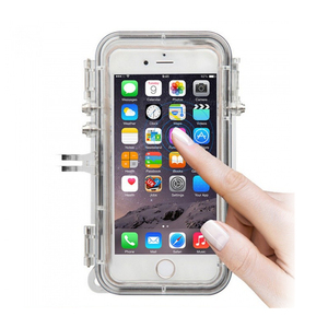 Image 3 - Touch Diving Mobile Phone Case Storage Bags Touch Waterproof  for Gopro hero Program 170 Degree Wide Angle Lens for iPhone