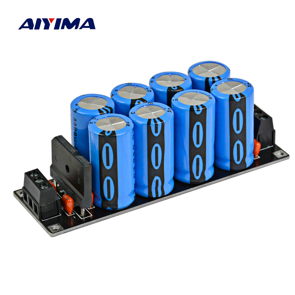 цена Aiyima Assembled amplifier 25A Rectifier Filter Fever Capacitor filter Rectifier Power Supply