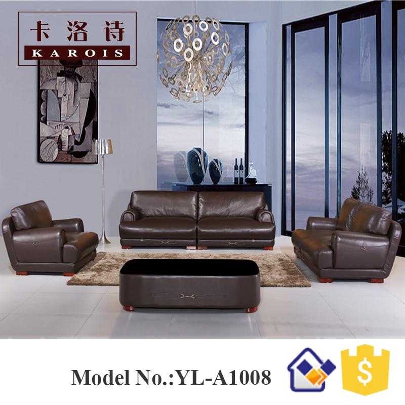 4 seater sofa classical high back sofa set for love furniture kulit ...