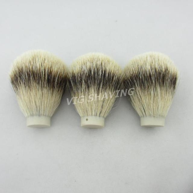 3pcs 19/65mm Quality Professional Silvertip badger hair Brush Knot