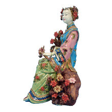 Antique Imitation Female Statue Marvel Collectible Figurines Chinese Lady Statues Porcelain Fashion Dolls Vintage Sculptures