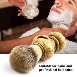 Мужская кисть для бритья Смола череп скелета натуральная смола ручка макияж кисти парикмахерские инструменты для мужчин
