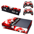Russian Football Club Spartak Moscow Skin Sticker For Xbox One Games Console +2PCS Controller Skin Cover Decals For Xbox One