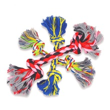 2016 new pet toys, cotton knot rope, colourful, training pet toys, chew toys, durability and durable, clean toys
