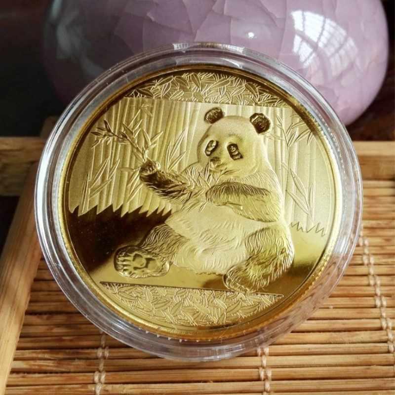 Tiền Kim Loại Kỷ Niệm Bộ Sưu Tập Lớn Panda Baobao