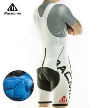 Racmmer 2017 Hommes Cyclisme Cuissard Été Coolmax 3D Gel Pad Vélo Bib Collants Vtt Ropa Ciclismo Évacuation de L'humidité Pantalon # BD-01