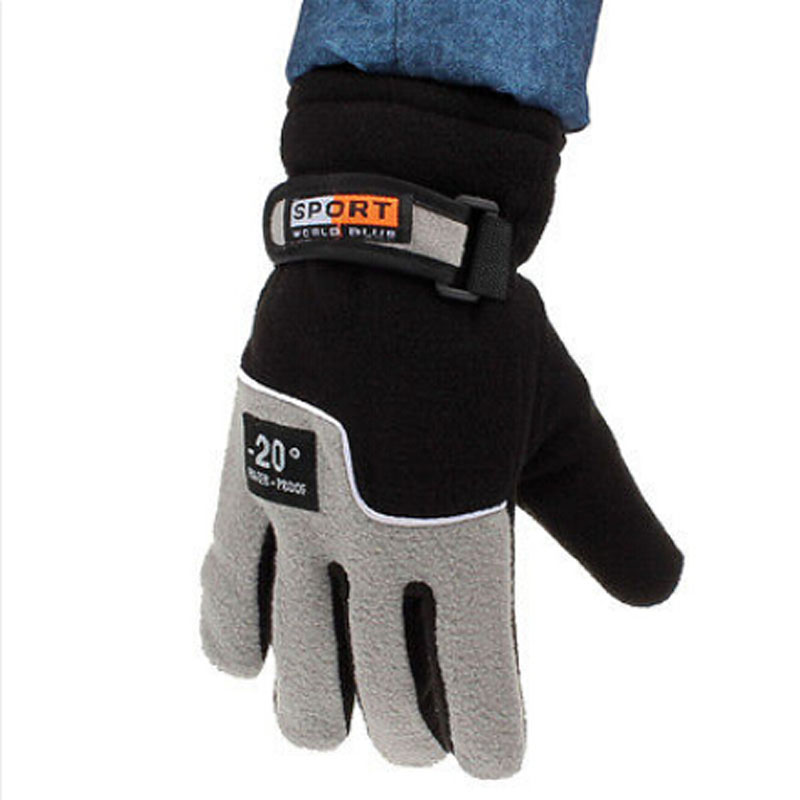 Apparel Accessories Hospitable 1pair Men Winter Warm Windproof Waterproof 20 Degreski Gloves Motorcycle Snowboard For Hands Protection Supplies
