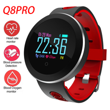 Q8 Pro Smart Watch OLED Color Screen Smartwatch Fitness Tracker Heart Rate Bluetooth Men Women Smart Sleep Monitor цена в Москве и Питере