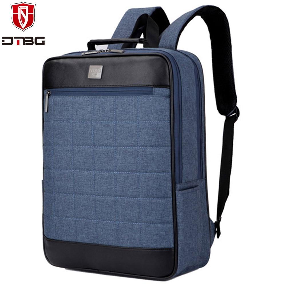 DTBG Laptop Backpack Men Women 15 15.6 inch Computer Backpacks for Apple Macbook Dell Waterproof Nylon Travel School Laptop Bags