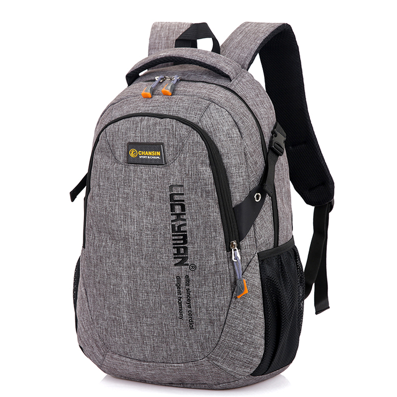 New Canvas Mountaineering Bag Men Travel Backpack Women Large Capacity Backpacks Bicycle School Unisex Fashion Double-Shoulder