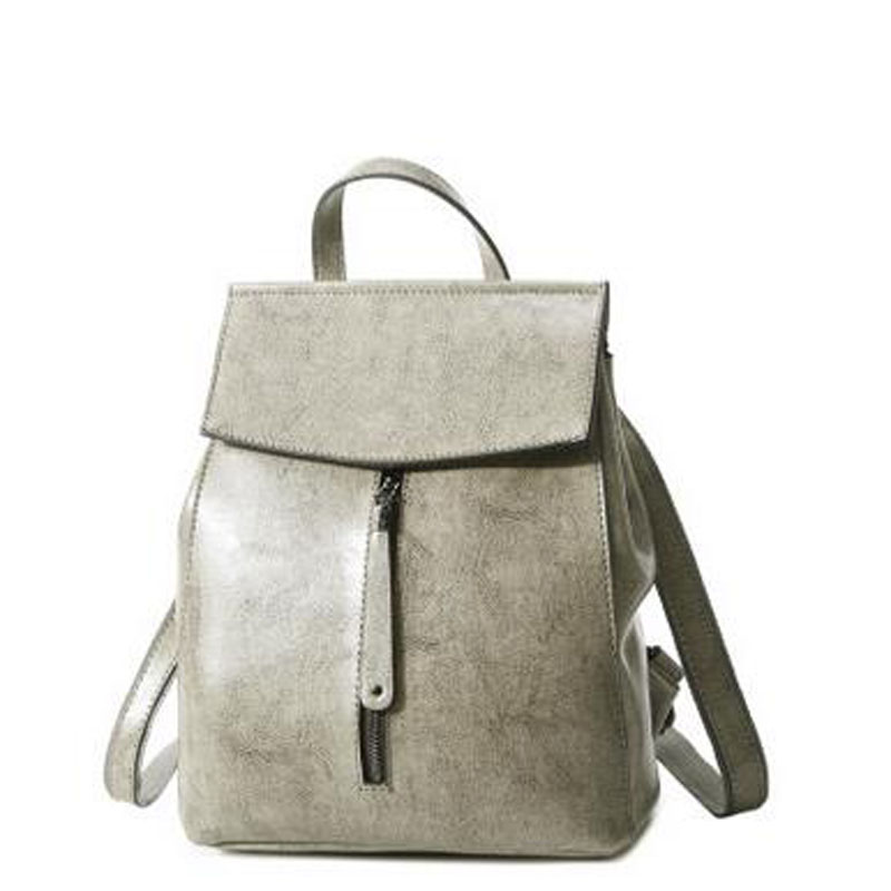HIGHREAL Fashion Brand Women Backpack Genuine Leather  Backpacks For Girls Real Cowhide Leather Backpacks Mochila Feminina J55