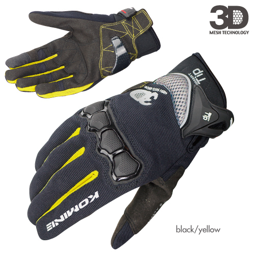 2018 summer new KOMINE GK162 3D mesh TECHNOLOGY riding glove motorcycle/motorbike/Moto racing gloves have colors size M L XL
