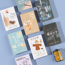 28 Pcs/Box Vintage Greeting cards /thank you / blessing card message Postcard Birthday gift stationery school supplies