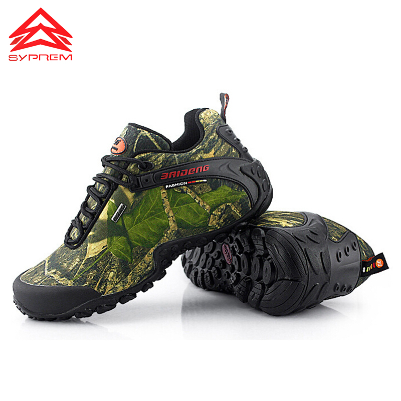 2017 Hot Mens Hiking Shoes Waterproof Trekking Shoes Men Outdoor Mountain Shoes Leather Climbing Sneakers breathable camping mens camo mesh breathable jogging trekking travel sneakers lace up low top outdoor sports waterproof climbing hiking shoes men