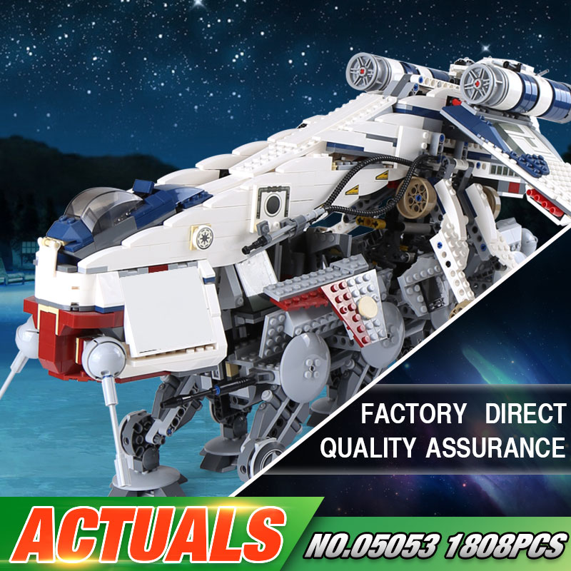 Lepin 05053 Star Series War New 1788Pcs Genuine The 10195 Republic Toys Dropship Set Building Blocks Bricks Children Toys Gifts new lepin 16009 1151pcs queen anne s revenge pirates of the caribbean building blocks set compatible legoed with 4195 children