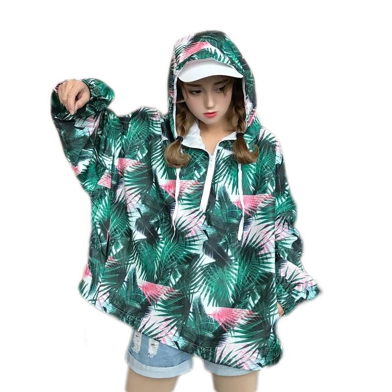 jacket Autumn Windbreaker Hip Hop Women Hoodie Jacket Zip Pullover Tracksuit Jackets Fashion Streetwear coat