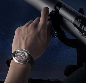 Image 5 - Original CIGA Design T Men /women Automatic Mechanical Watch Full Hollow Stainless Steel Wrist Watch
