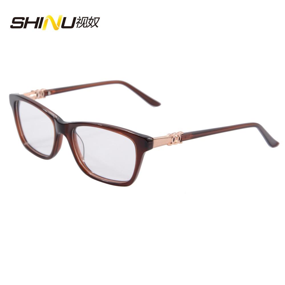 00d0c4c385e4e Óculos de Armação Armação de Óculos Ópticos Óculos de Armação oculos de grau  de Vidro com