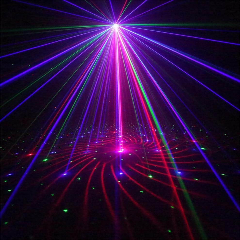 Led Mini Laser Proyector Rgb Podiumverlichting Professionele ...