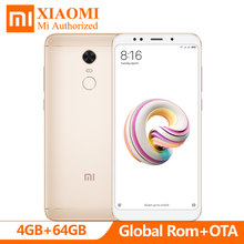 "Google Play Store Global Rom Xiaomi Redmi Note 5 AI 5.99"" FHD Snapdragon 636 4GB RAM 64GB ROM 4G LTE Mobile Phone 13.0MP 4000mAh(Hong Kong,China)"