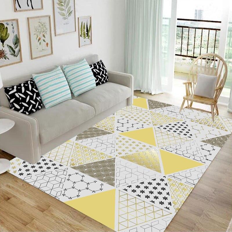 Tapis nordiques et tapis pour la maison salon grande chambre tapis canapé Table basse tapis de sol enfants chambre étude personnaliser tapis de zone