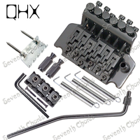 QHX Left Handed Electric Guitar Bridge Tremolo Double Locking Systyem With Whammy Bar Guitar Accessories
