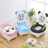 Cartoon Baby Potty Seat Toddler Kids Training Potty Toilet Urinal Chair Seat Potty Trainer Home Decor Bathroom Accessories