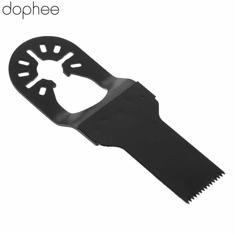 Dophee 40*20mm Oscillating Tool HCS E-cut Saw Blade Closed Quick Release For Renovator Power Tool Fein Dremel Wood Metal Cutting