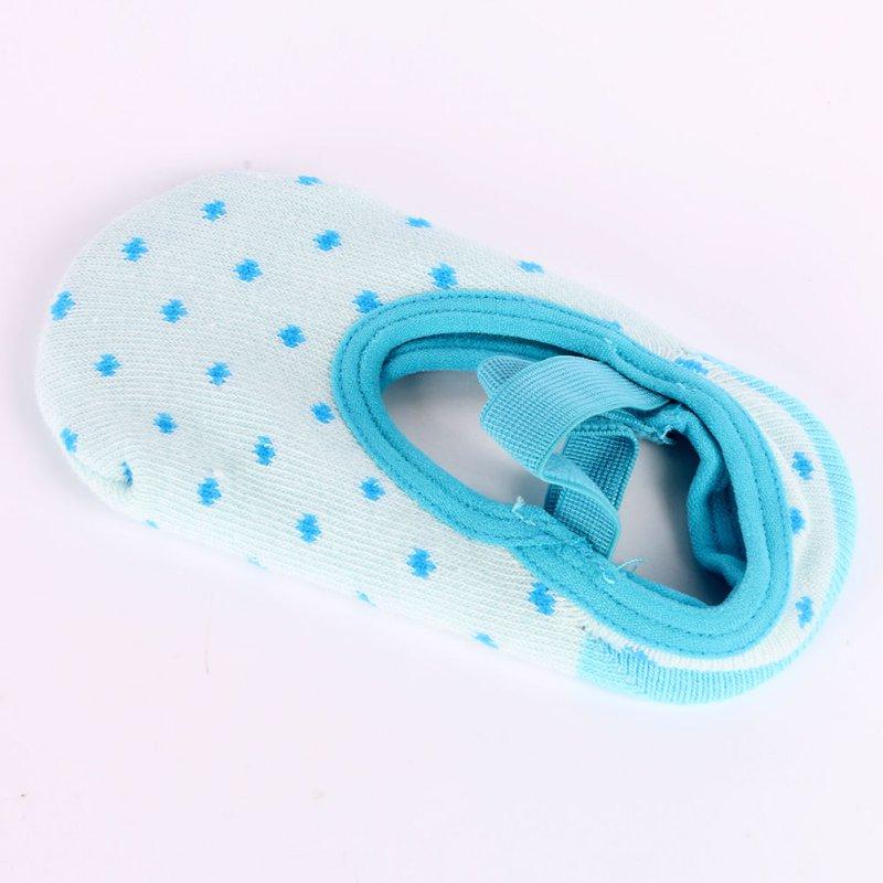 Прекрасный милый ребенок младенческой точки Тапочки Носки для девочек Обувь для девочек Дети СИБ Детские Обувь для младенцев пинетки носки...