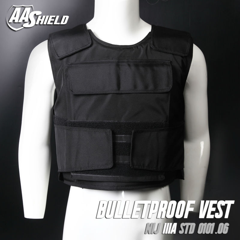 New Small Tactical Plate Carrier IIIA Body Armor BulletProof Vest with Inserts