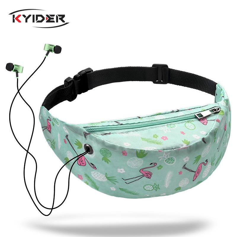 KYIDER Waterproof Women Waist Bag High Quality Girls Travelling Fanny Pack Mobile Phone Waist Pack For Women Designer Belt Bags