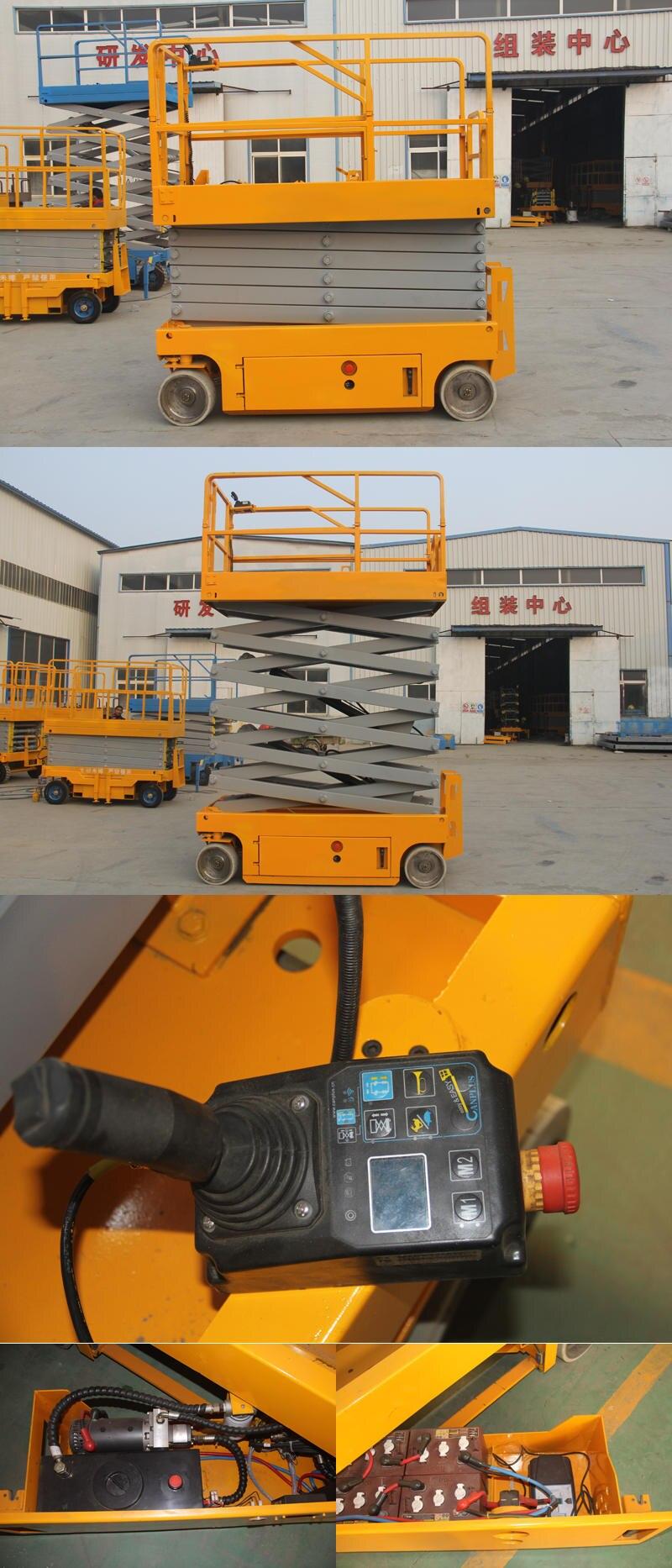 8m Automatic Electric Scissor Lift