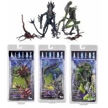NECA AVP Aliens vs Predator figura serie Queen Face Hugger Mantis Gorilla  Alien PVC figuras de acción modelo de regalo de juguet. 4c2bc948ed3
