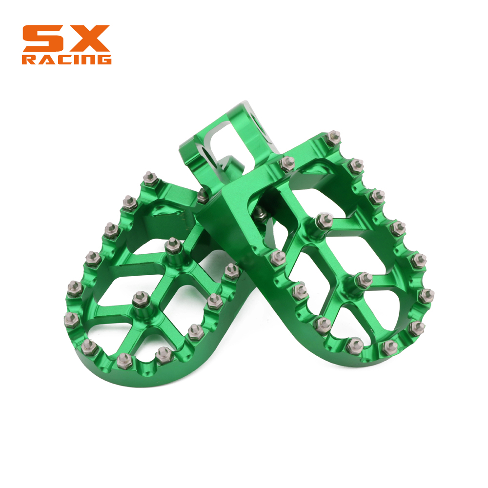 Motorcycle Aluminum Foot Pegs Footpeg Pedals FootRest For KAWASAKI KX125 KX250 KX 125 250 1997-2001 KX500 1988-1990 Dirt BikeMotorcycle Aluminum Foot Pegs Footpeg Pedals FootRest For KAWASAKI KX125 KX250 KX 125 250 1997-2001 KX500 1988-1990 Dirt Bike