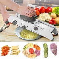 Mandoline Slicer Spiralizer Vegetable Veggie Food Slicer with Julienne Potato Friut Grater kitchen tools