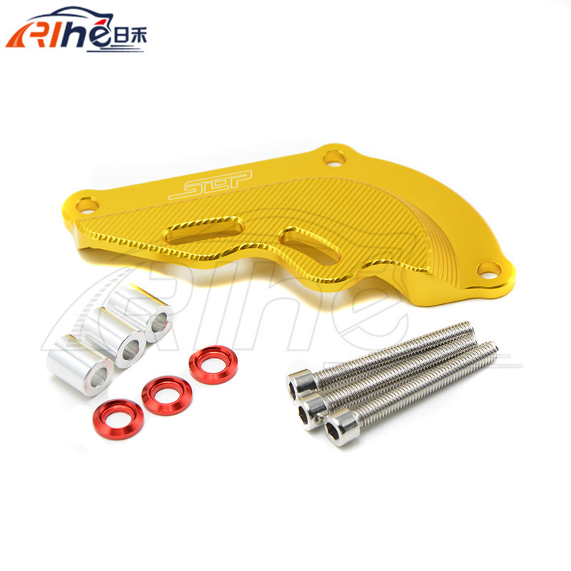 motorcycle accessories CNC aluminuim engine protector cover golden color small front cover for kawasaki z800 7 colors optional