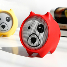 E06 Dogz  MINI Bluetooth Speaker Portable Mini Bluetooth Speaker Gift Speakers Mp3 Music Player Stereo Sound Wireless Speaker