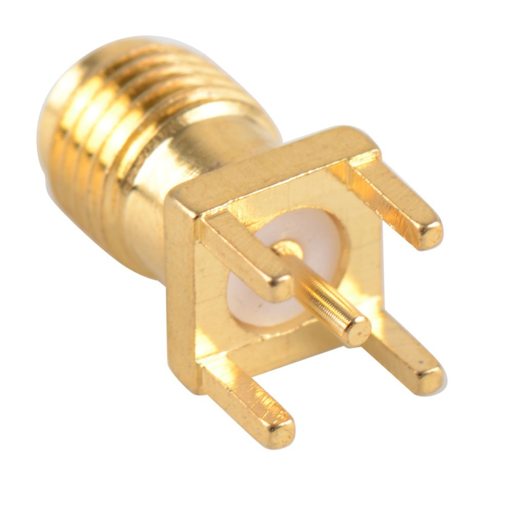 Hot End Launch PCB Mount SMA Female Plug Straight RF Connector Adapter Low Price P0.05