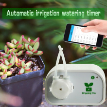 Family Garden Intelligent Automatic Watering Device Mobile Phone WIFI Control System Drip Care Timer Irrigation Controller 25 wifi smart watering valve intelligent drip irrigation phone remote controller diverse timing