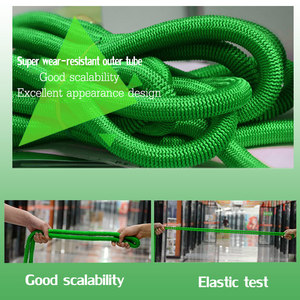 Image 5 - 50ft 1 set of new high quality garden hose automatic telescopic magic hose gardening tools and equipment 8 function water gun